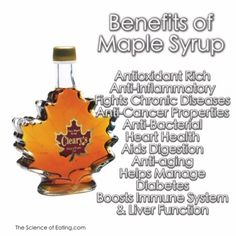 Benefits of Pure Maple Syrup
