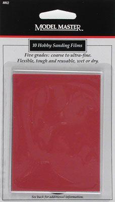 Testors Model Master Hobby Sanding Film (10)