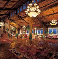 We love love love the Samoset Resort in Rockland Maine USA. Wood block floors, amazing views, quintessential Maine coast.