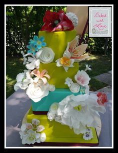 First Time: Gum Paste and Wafer Paper Flowers  #BakedWithLove by Federica Santimaria