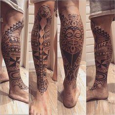 #freehand#freehandtattoo#polynesian#maori#tattoo#tattooboy#ink#inkboy#tatt#inked#blackink#inkt#tiki#underleg#underlegtattoo#legtattoo#leg#shin#calf#foottattoo
