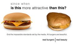 real burgers, real beauty