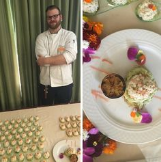 Chris Countess named 2016 Sunrise Signature Chef for his dish Chilled Crab Salad…