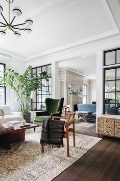Interior Windows, Living Room Interior, Home Design, Home Living Room, Interior Design Living Room, Living Room Designs, Living Room Decor, Living Spaces, Living Area