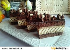 Myslíme si, že by sa vám mohli páčiť tieto piny - sbel Fancy Desserts, Pastry Cake, Good Mood, Tiramisu, Cake Decorating, Sweets, Cupcakes, Cooking, Ethnic Recipes