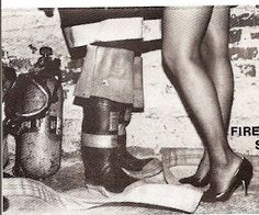 I am a firefighters wife. ♥ Once a firefighter always a firefighter. When he see the fire and says I need to be there you know his feet needs to be in those boots.