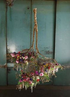 amazing hanging flowers
