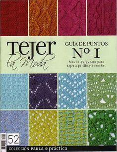 Baixar o Livro Tejer La Moda Pontos de Tricot e Crochet...