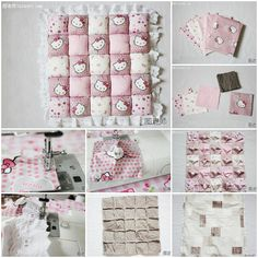 How to make lovely pillow step by step DIY instructions, How to, how to make, step by step, pictures, diy instructions, craft, do it yourself