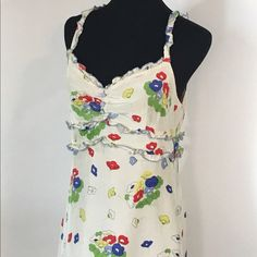 Anthropologie Odille Sundress Lined Lined silk Odille sundress from Anthropologie. In great shape! Anthropologie Dresses Midi