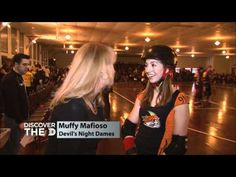 My Detroit Derby Girls!  This was shot during a match between the Grand Prix Madonnas and the Devil's Night Dames.
