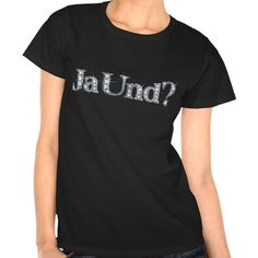 "Ja Und? ""Diamond Bling"" Shirt"