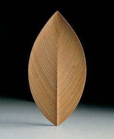 TAPIO WIRKKALA - wooden carved dish - Finland - 1950s
