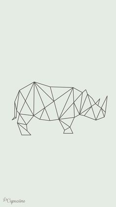 Rinoseronte. #Origami.