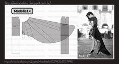 O comprimento mullet confere irreverência ao visual, provocada pela assimetria. Combina com ocasiões em que se possa ousar, que não sejam ...