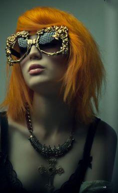 Bello Magazine June 2014 Features Mercura Golden Girl Baroque Sunglasses Photo by TJ Manou
