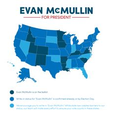 How to Vote for Evan McMullin (good info for states you need to write him in) - evanmcmullin.com
