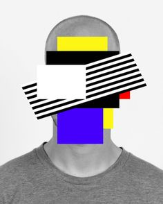 Racer X, by Douglas Coupland. Douglas Coupland's work examines themes of technological advancement and the effect that this prog. Photography Projects, Art Photography, Creative Inspiration, Design Inspiration, Douglas Coupland, Modern Portraits, Memphis Design, Face Expressions, Fotografia