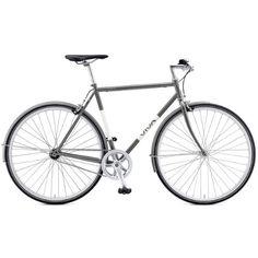 Viva Legato 7 City Bike, 700c Wheels, Men's Bike, Grey, 59 cm Frame -- You can find more details by visiting the image link.
