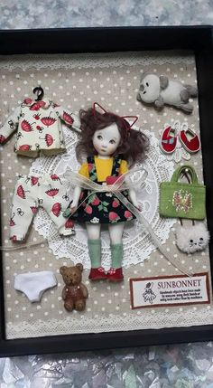 Doll Set  by Sun Joo Dee
