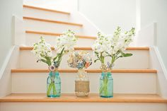 Awesome idea for DIY table centerpieces! Photo taken by @Billie Stock Photography