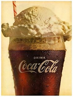 ice cream coca cola