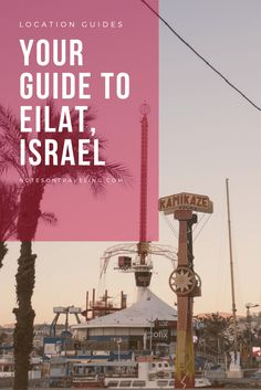Learn all you need to know about Eilat, Israel's southern city by the Red Sea. Includes links for further research on things to do and local transport.