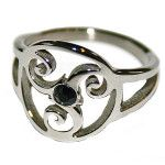 Ring TRISKELE http://www.modeschmuck-onlineshop.com/onlineshop/ringe/fetisch-bdsm/