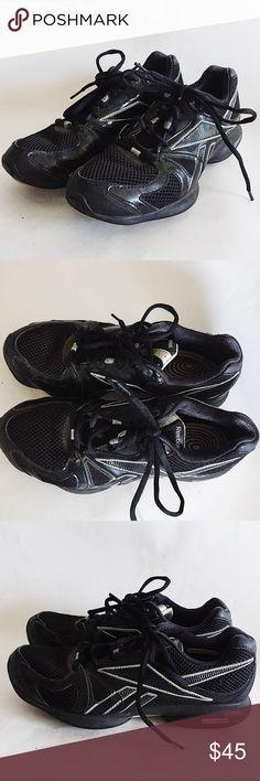 d76987938f0ce4 REEBOK Easytone Black Toning walking shoes REEBOK Easytone Black Silver  Walking Toning Athletic Shoes Women s 8.5. Great condition .