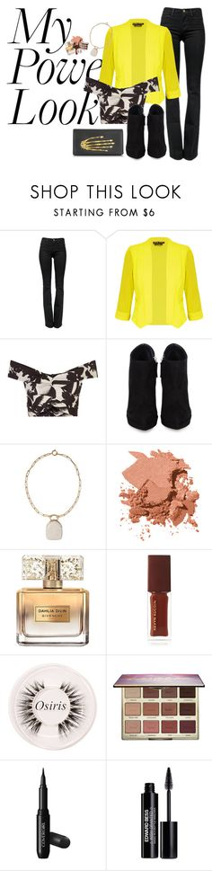 """""""I got the power"""" by victoria-mars ❤ liked on Polyvore featuring Frame, City Chic, Johanna Ortiz, Giuseppe Zanotti, Isabel Marant, Bobbi Brown Cosmetics, Givenchy, Kevyn Aucoin, Certifeye and tarte"""