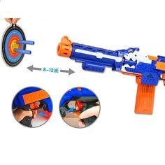 Ηλεκτρικό μαλακό πυροβόλο όπλο πυροβόλων όπλων Πυροβόλο όπλο ελεύθερου σκοπευτή Μπορεί να αποσυναρμολογηθεί και να συναρμολογηθεί πυροβόλο όπλο για παιδιά παιγνίδι Kugel, Nerf, Kai, Guns, Shopping, Clearance Toys, Kids, Weapons Guns, Revolvers