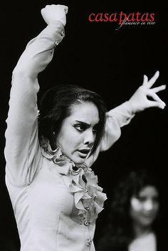La bailaora Alba Heredia. Foto: Martín Guerrero