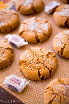 Soft-Baked Molasses Crinkle Cookies