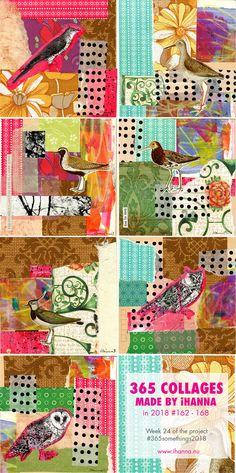 Mini Collage Bits Set of 5