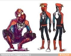 i love this crossover!i love spiderman and i love ticci toby! not in the fangirl sense!