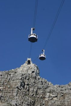 Cable way to the top - Table Mountain