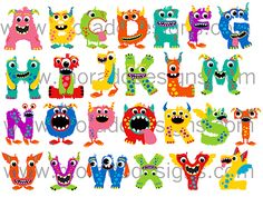 ABC Monster Alphabet Tee