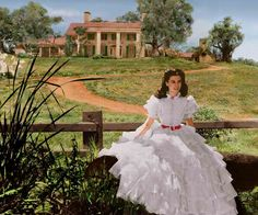 .Scarlet o'haras Gone with the wind