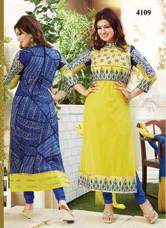 New Amazing Designer Yellow Salwar Kameez