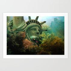 East Coast Sightseeing Art Print
