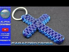 Aloha everyone, in this Video Tutorial you'll see How to Make a Paracord Cross + Box Knot Tutorial DIY Paracord used: Sky blue Paracord 550 - 6 ft or 2 meter. Snake Knot Paracord, Paracord Braids, Paracord Keychain, 550 Paracord, Diy Keychain, Paracord Bracelets, Keychains, Paracord Tutorial, Bracelet Tutorial