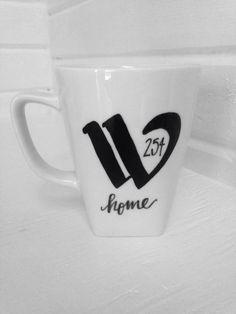 Waco 254 Home Mug // The 254 is Baylor's home! #Wacotown