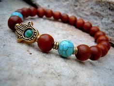 Protection / Yoga Bracelet / Wrist Mala / Yoga Jewelry by Syrena56, $27.00