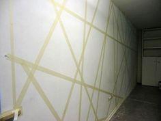 Decorare una parete con il colore e la geometria - Mammachecasa