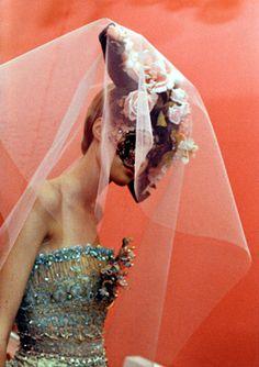 Christian Lacroix haute couture s/s 1997 photographed by Gerard Uferas Christian Lacroix, Headdress, Headpiece, Gizele Oliveira, Diana, Fairytale Fashion, Ethnic Fashion, High Fashion, Women's Fashion