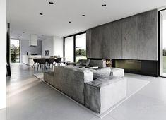 offene Räume - Küche, Ess- und Wohnbereich