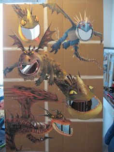 """How to Train Your Dragon party game: Bug, Boo, and Bean: """"Dragon"""" Party Game: """"Feed the Dragon"""""""