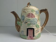 Beautiful Beehive Teapot Made in Japan by by EastIdahoCompany, $29.99