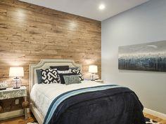 Amazing Wood Wall Bedroom