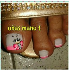 Manicure Y Pedicure, Nail Designs, Nails, Beauty, Honey, Home, Toe Nail Art, Polish Nails, Decorations